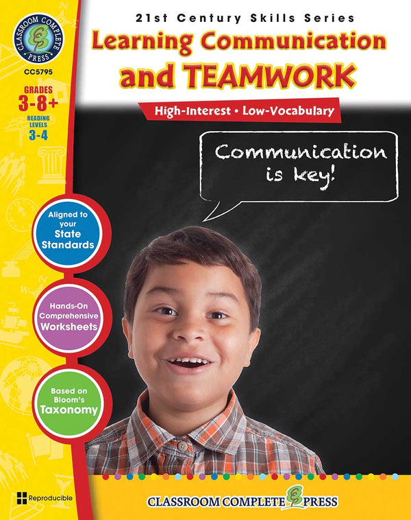 Learning Communication & Teamwork (Grades 3-8+)