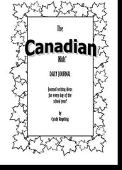 Canadian Kids' Daily Journal
