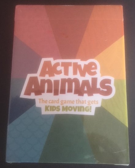 Active Animals card game