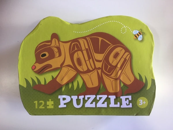 Bear Shaped Puzzle