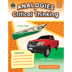 Analogies for Critical Thinking Gr. 5