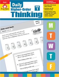 Daily Higher-Order Thinking Grade 1