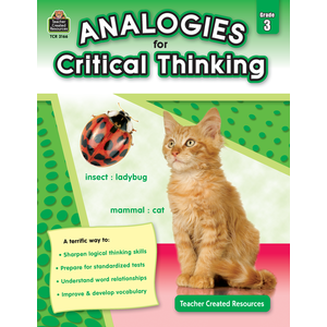 Analogies for Critical Thinking Gr. 3