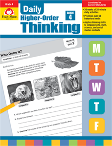 Daily Higher-Order Thinking Grade 4