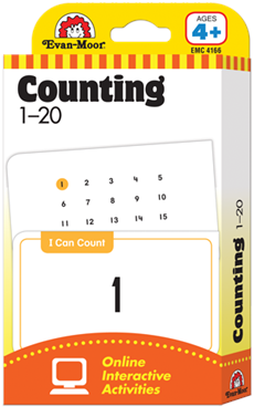 Counting 1-20 Flash Cards