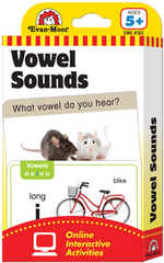 Vowel Sounds Flash Cards