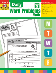 Daily Word Problems Grade 5