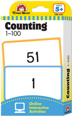 Counting 1-100 Flash Cards