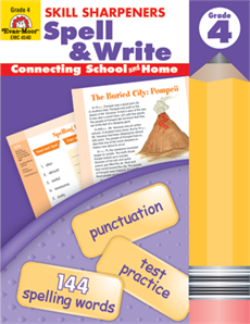 Skill Sharpeners Spell & Write Grade 4