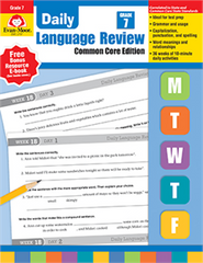 Daily Language Review Grade 7