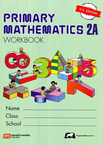 Primary Math Workbook 2A U.S. EDITION