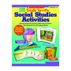 25 Totally Terrific Social Studies Activities (Gr 3-6)