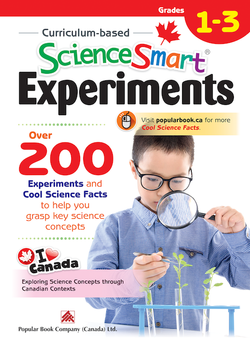 Curriculum-based ScienceSmart Experiments Grades 1 – 3