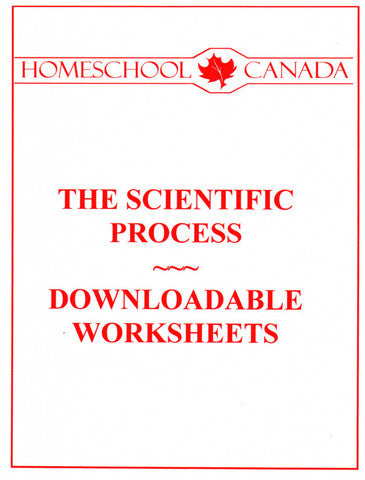 Scientific Process Worksheets