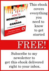 How to Homeschool in Canada ebook