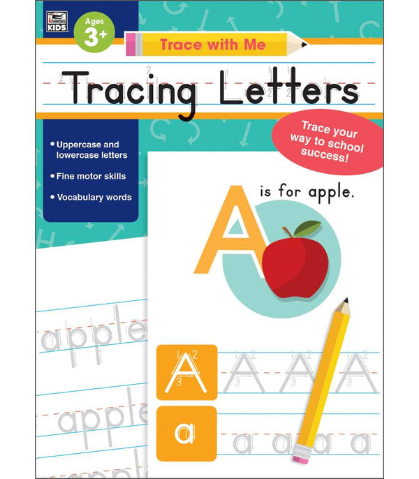 Trace with Me: Tracing Letters Activity Book