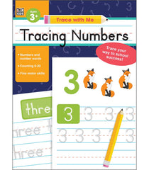 Trace with Me: Tracing Numbers Activity Book