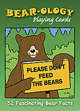 Bear-ology - playing cards