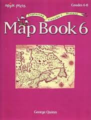 Map Book 6 - Exploring Canada's History - Grades 6-8