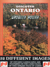 Discover Ontario - playing cards