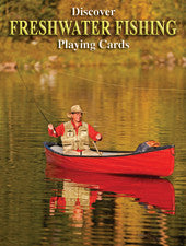 Discover Freshwater Fishing - playing cards