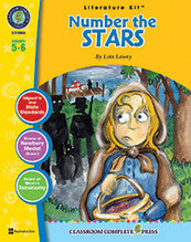 Number The Stars Literature Kit (Grades 5-6)