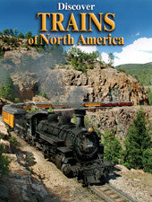 Discover Trains of North America - playing cards