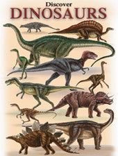 Discover Dinosaurs - playing cards