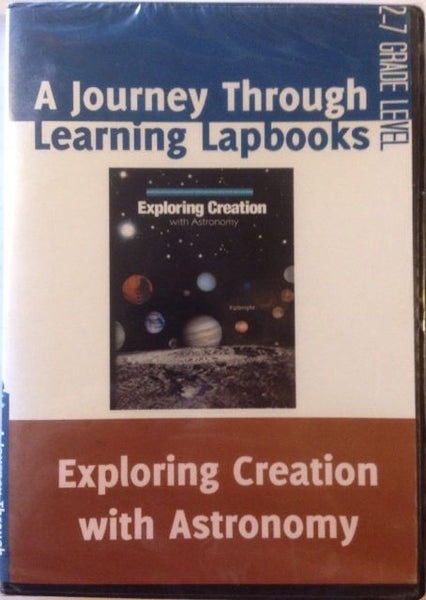 A Journey Through Learning Lapbooks - Exploring Creation with Astronomy DVD