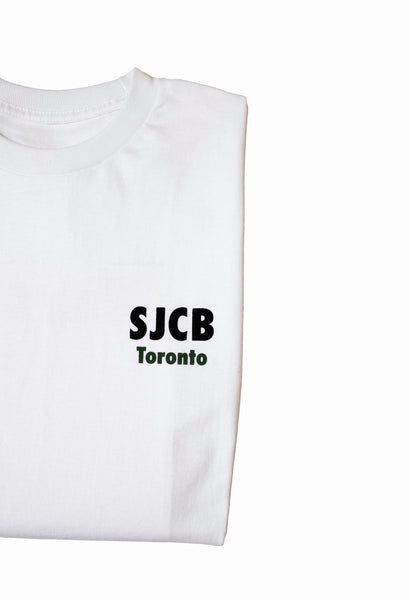SJCB IN YOUR FACE GRAPHIC- WHITE