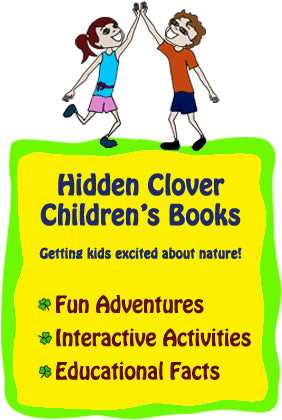 Hidden Clover children's books get kids excited about nature