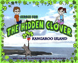 Kangaroo Island children's book cover illustration