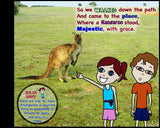Kangaroo Island children's book page 5 illustration