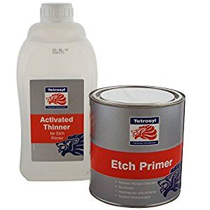 Etch primer 1L + activatet thinner for e