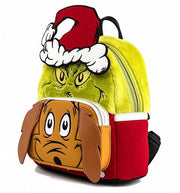 Dr. Seuss Grinch and Max Mini Backpack
