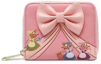 Disney Cinderella Dress Making Zip-Around Wallet