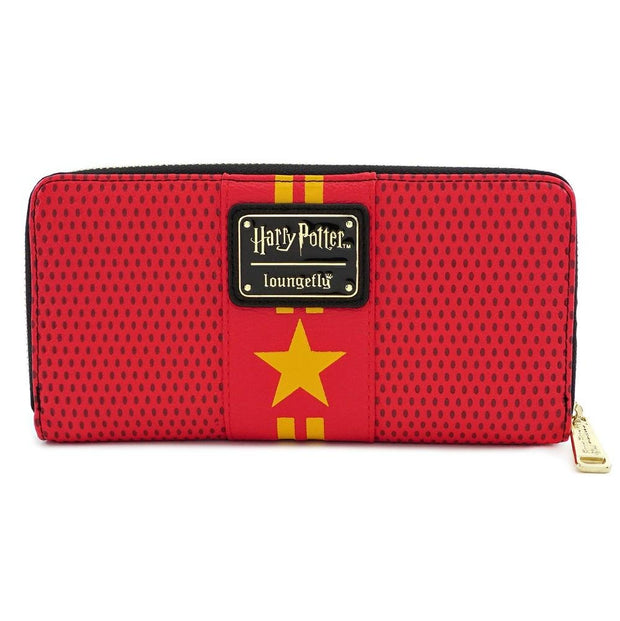LOUNGEFLY X HARRY POTTER TRIWIZARD CUP ZIP AROUND WALLET - BACK