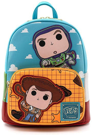 Funko POP! Disney Pixar Toy Story Buzzy and Woody Mini Backpack