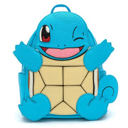Loungefly x Pokemon Squirtle Cosplay Faux Leather Mini Backpack - FRONT