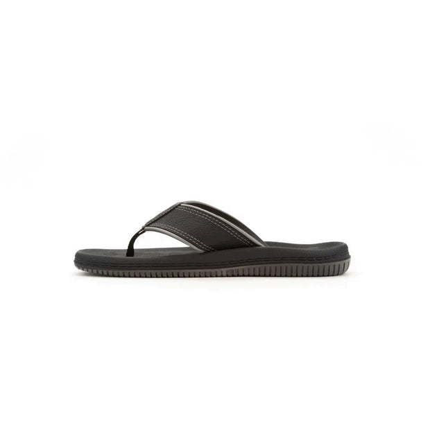 CARTAGO DUNAS II MEN'S SANDALS - BLACK GREY INSIDE