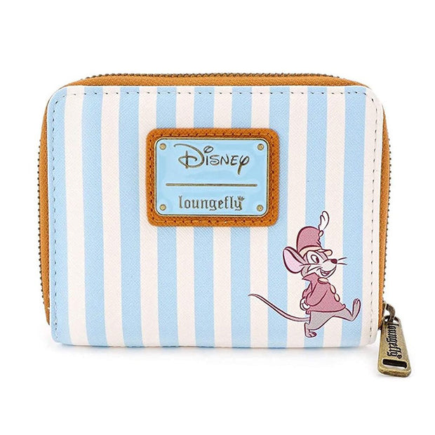 Loungefly x Disney Dumbo Striped Faux-Leather Wallet - BACK