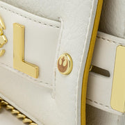 LOUNGEFLY X STAR WARS GOLD CHAIN REBEL CLUTCH CROSSBODY BAG - DETAIL