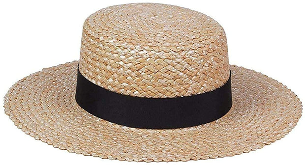 Rico Straw Boater Hat