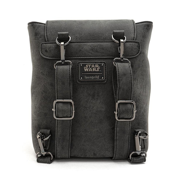 Loungefly x Star Wars Imperial Convertible Mini Backpack - BACK