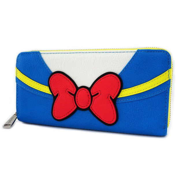 Loungefly x Disney Donald Duck Zip-Around Wallet - SIDE