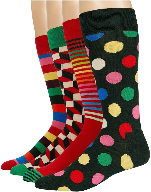 Classic Holiday Socks 4-Pack Gift Set