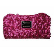 Loungefly x Disney Minnie Mouse Pink Sequin Wallet - BACK