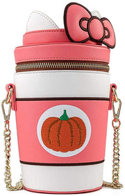Sanrio Hello Kitty Pumpkin Spice Kitty Cup Crossbody