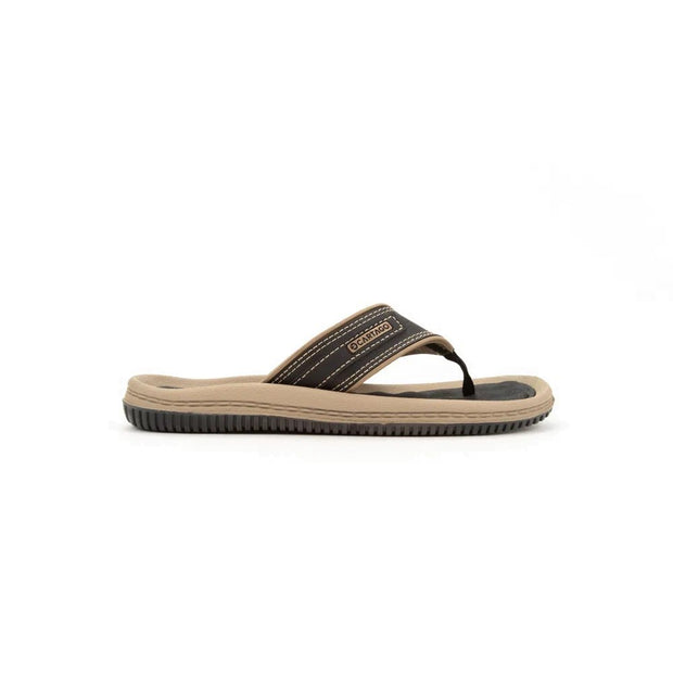 CARTAGO DUNAS II MEN'S SANDALS - BLACK BEIGE OUTSIDE