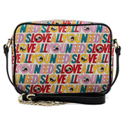 The Beatles All You Need is Love Allover Print Crossbody - April Preorder